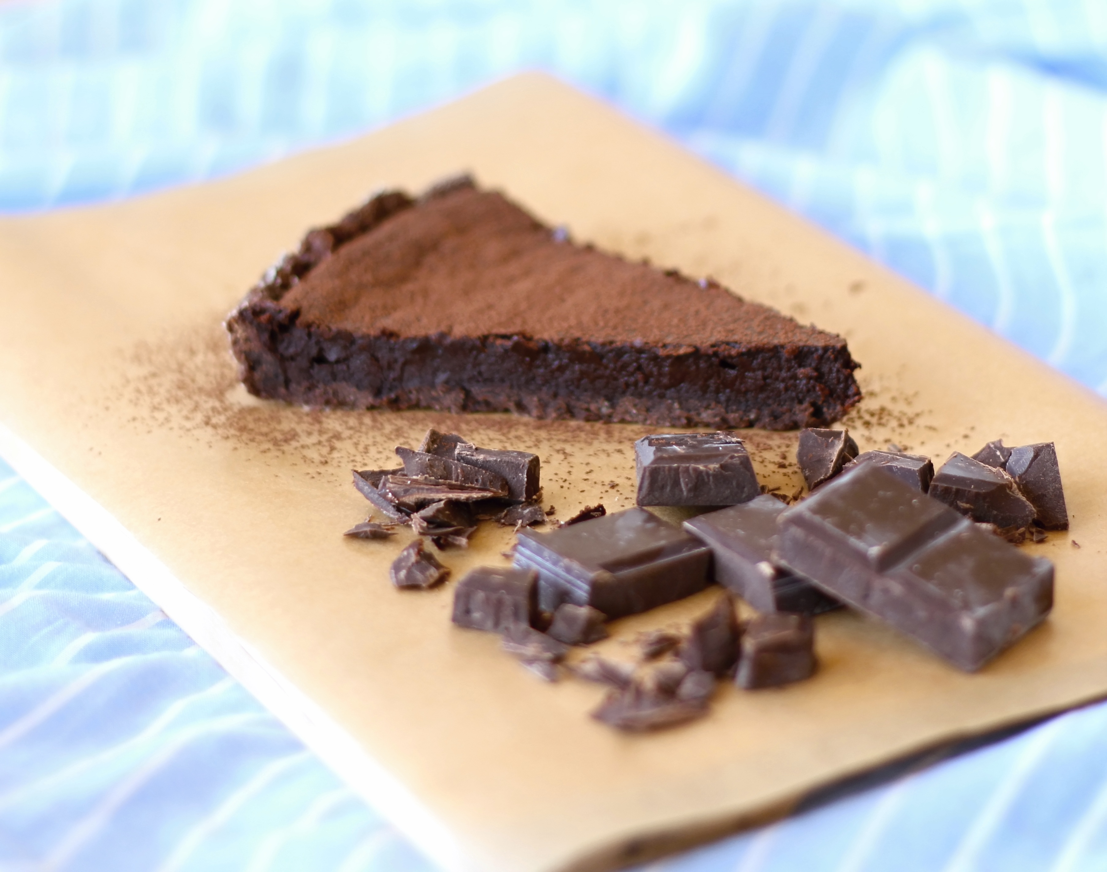 Můj extra čokoládový koláč