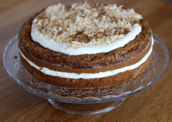 Mrkvový dort – Gâteau aux carottes