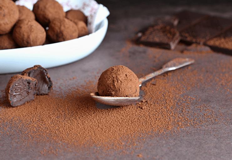 Domácí čokoládové lanýže – recept